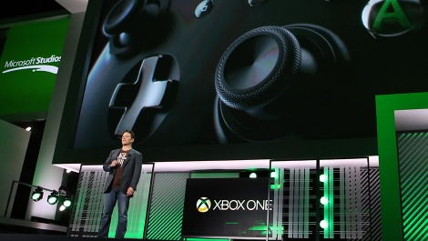 Phil-Spencer-at-Xbox-One-E3-presentation