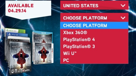 the-amazing-spider-man-2-videogame-xbox one