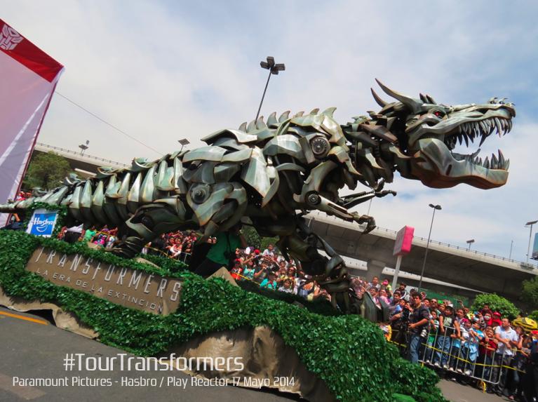 Tour Transformers La Era De La Extinción Llegan A México Los