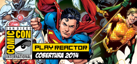 DC comics comic con 2014 Play Reactor