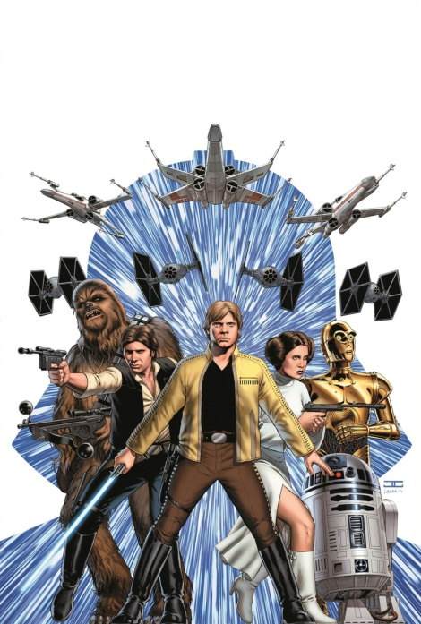 Star Wars #1 portada de Cassaday
