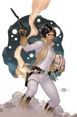 Star Wars: Princess Leia #1 portada de Dodson