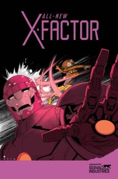ALL-NEW X-FACTOR #16 PETER DAVID (Escritor) • CARMINE DI GIANDOMENICO (Dibujante) Portada por: Kris Anka & Jared Fletcher