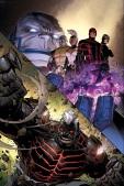 AVENGERS & X-MEN: AXIS #4 RICK REMENDER (Escritor) • LEINIL FRANCIS YU (Dibujante) Portada por: JIM CHEUNG Portada variante por: CLAY MANN Young Guns Variant por: DAVID MARQUEZ