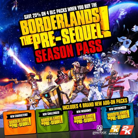 Borderlands Season Pass