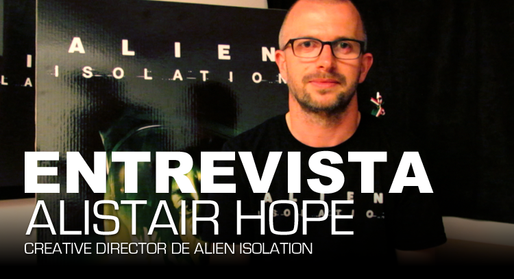Entrevista Alien Isolation Play Reactor