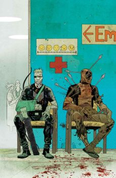 HAWKEYE VS. DEADPOOL #2 GERRY DUGGAN (Escritor) • MATTEO LOLLI (Dibujante) Portada por: JAMES HARREN