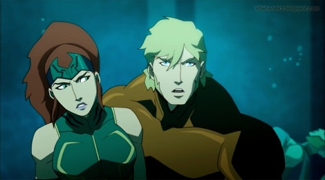 Justice League Throne of Atlantis Preview 024