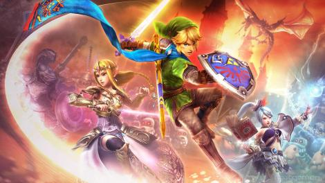 Hyrule Warriors Keyart