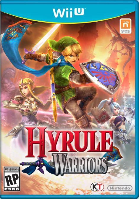 Hyrule Warriors Portada