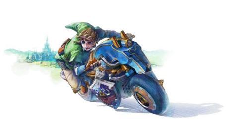 Mario-kart-link-master-cycle