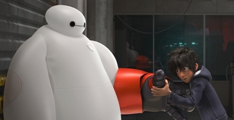 Hiro-upgrades-Baymax-in-Dinseys-Big-Hero-6