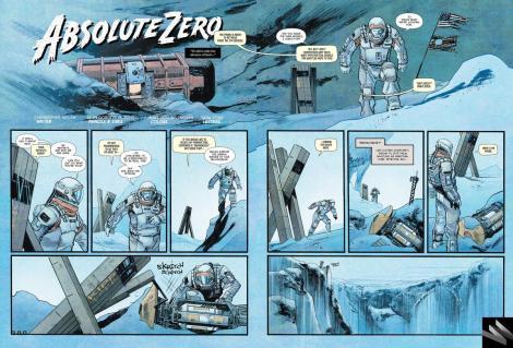Interstellar prequel comic book page one