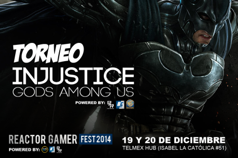 DISEÑO TORNEO Injustice 2