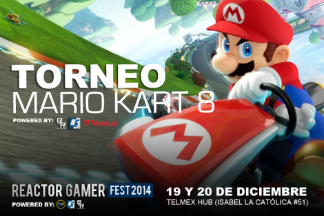 DISEÑO TORNEO Mario Kart 8