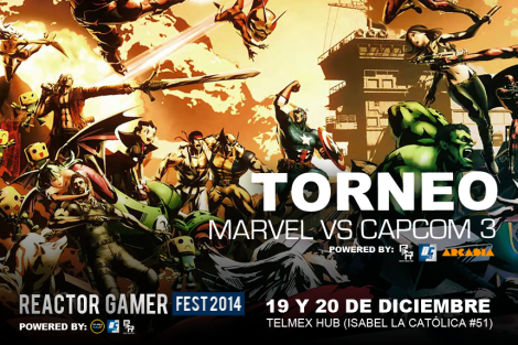 DISEÑO TORNEO Marvel vs capcom