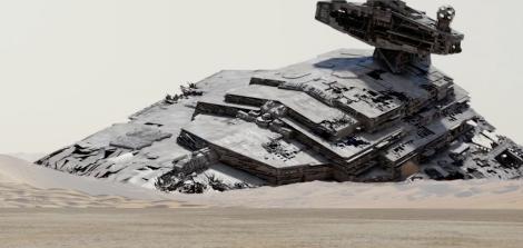 Star Wars the force awakens CGI