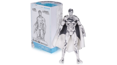 Jim Lee Blueline Superman. $40 dólares, en tiendas para julio 2016.
