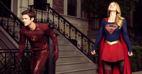 flash y supergirl