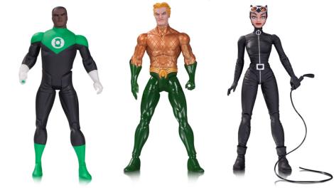 Darwyn Cooke Green Lantern, Greg Capullo Aquaman, and Darwyn Cooke Catwoman. Precio y día de lanzamiento aun no anunciado.
