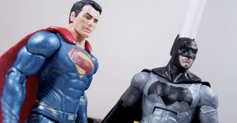 batman v superman mattel