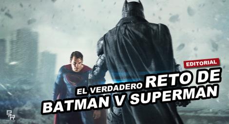 Diseño editorial Batman v superman