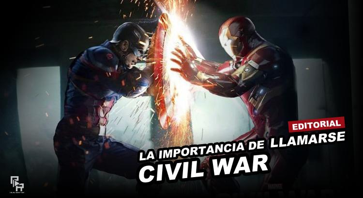 Diseño editorial civil war
