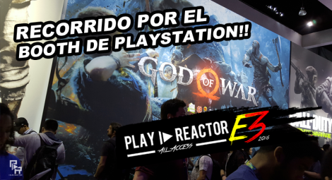 Diseño e3 2016 - booth playstation