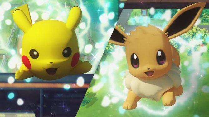 Nintendo | La compañía ofrece nueva información de Pokémon: Let's Go, Pikachu!yPokémon: Let's Go, Eevee!