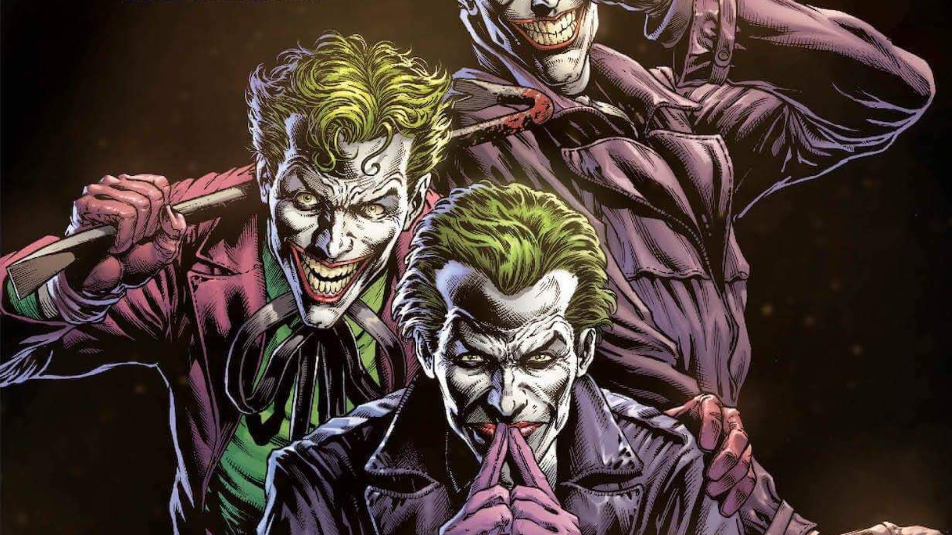 SDCC 2018 | DC muestra el primer vistazo a Batman: Three Jokers