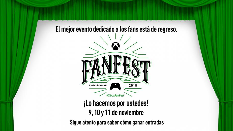 Xbox Fan Fest | El gran evento para los fans de la marca regresa a México