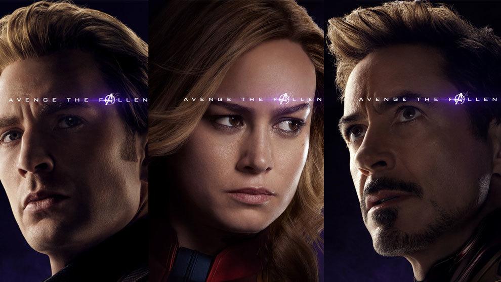Avengers: Endgame | Se revelan posters individuales de los personajes a un mes del estreno.