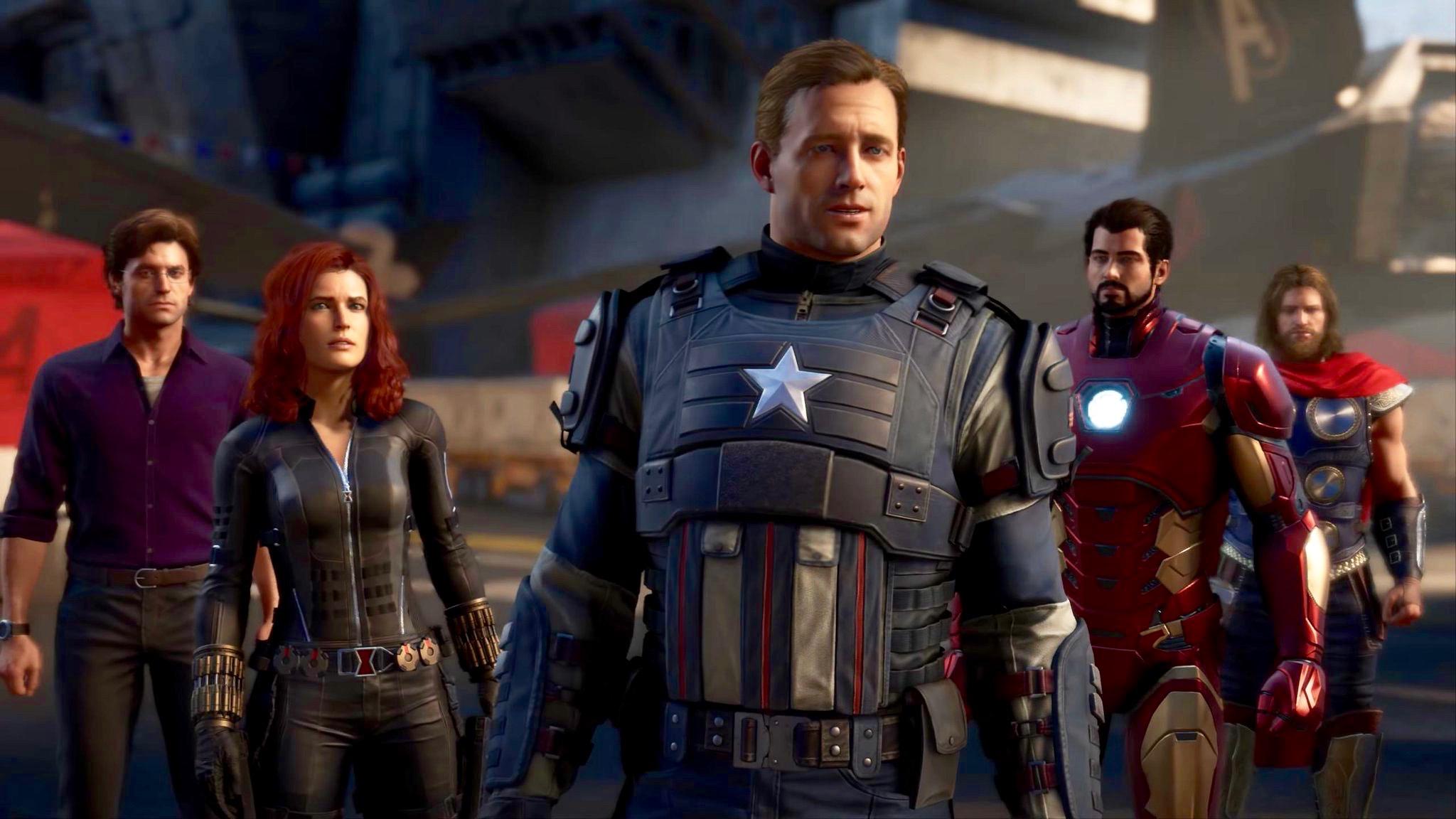 Marvel's Avengers | Se filtra el primer gameplay.