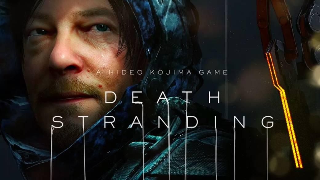Death Stranding | Se muestra la portada oficial del título.