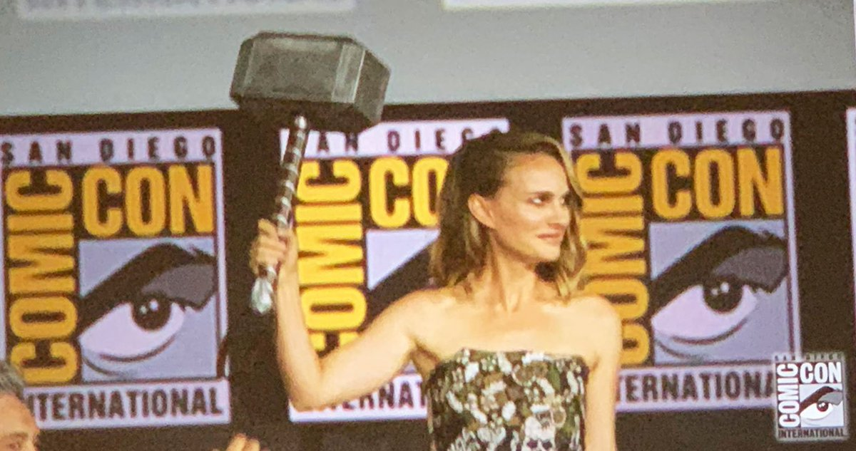 Thor: Love and Thunder | Natalie Portman estará de regreso y será la nueva Thor.