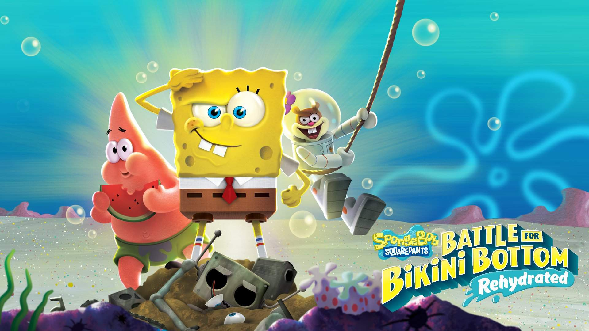 SpongeBob SquarePants: Battle for Bikini Bottom – Rehydrated | Se revela el primer gameplay del juego.