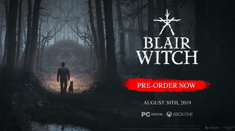 Blair Witch | Nuevo video del juego es revelado.