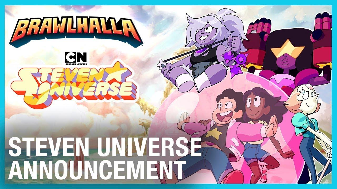Brawlhalla | Juega como las cuatro Gemas de Cristal de Steven Universe.