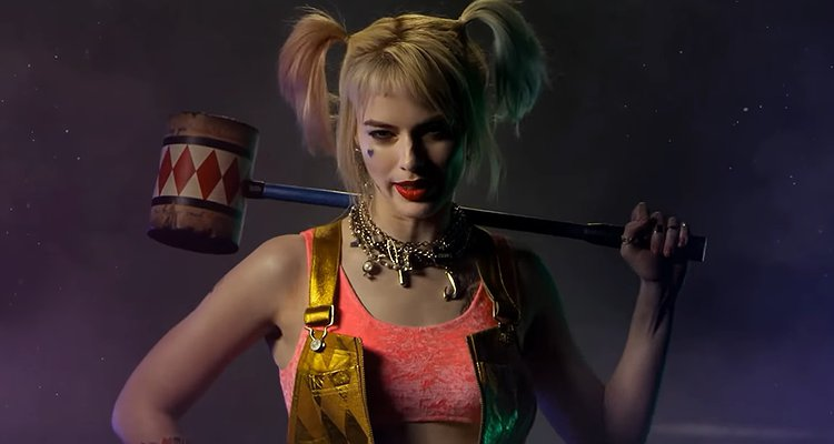 The Suicide Squad | Captan a Margot Robbie como Harley Quinn en el set.