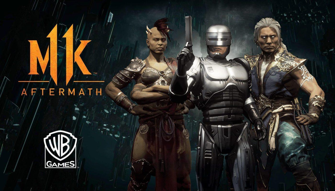 Mortal Kombat 11: Aftermath | Mira su increíble trailer de lanzamiento.