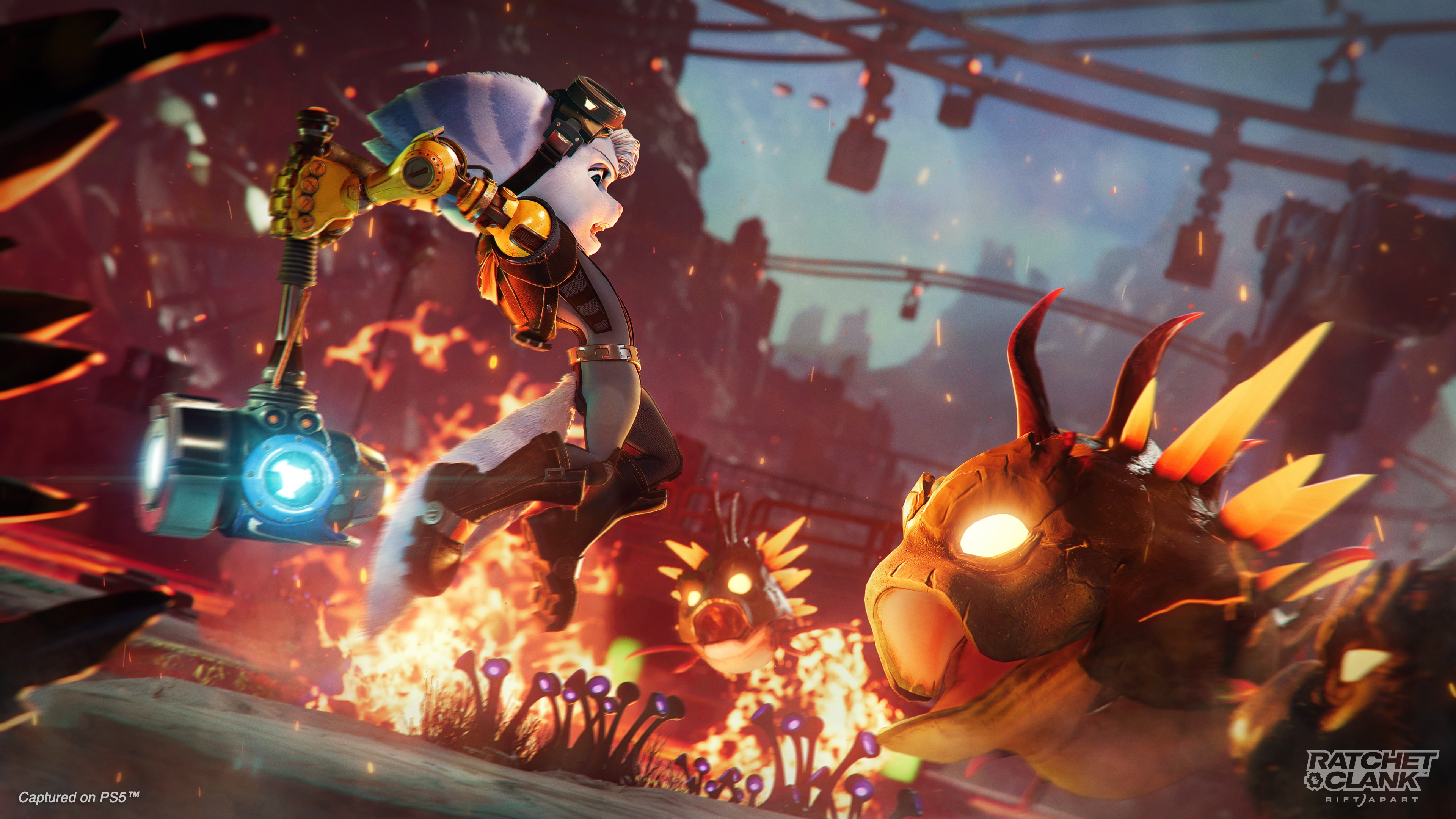 Ratchet & Clank: Rift Apart | Sony muestra nuevos gameplays del esperado juego.