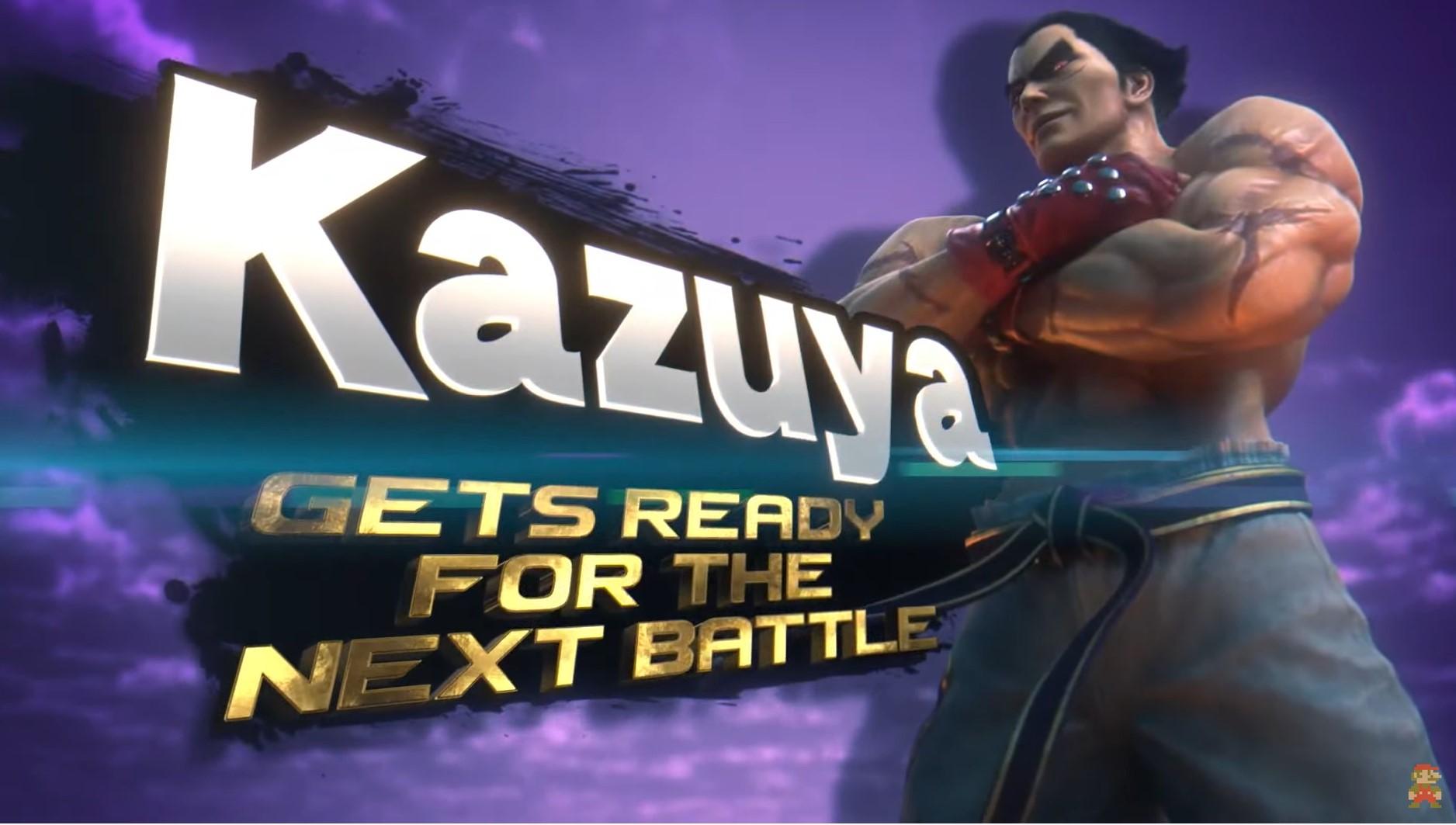 Super Smash Bros. Ultimate   Kazuya Mishima de Tekken se unirá al roster del título.